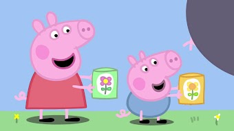 Pedro the Cowboy / Peppa and George's Garden