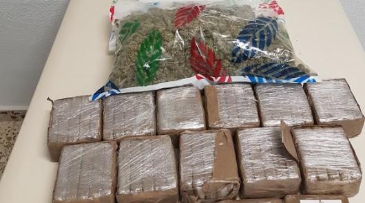Una 'guardería' de droga en El Ejido en un almacén contiguo a un invernadero