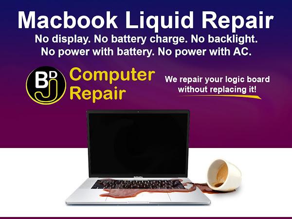 BDJ Macbook Logic Board Mac Repair | Water Damage Repair | DATA RECOVERY