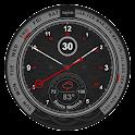 Schwarze Premium Watch Face icon