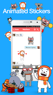 Yabb Text and Voice Messenger- screenshot thumbnail