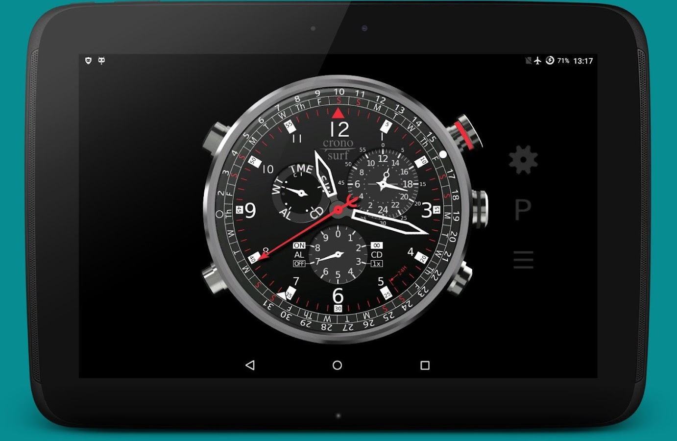 Cronosurf Wave Pro watch- screenshot