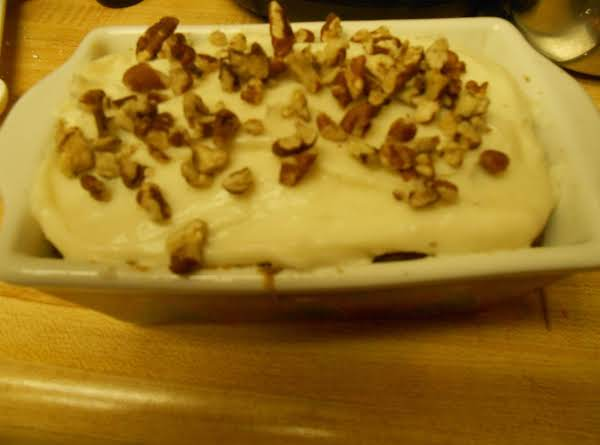 Ellen's To-heaven-and-back Carrot Cake