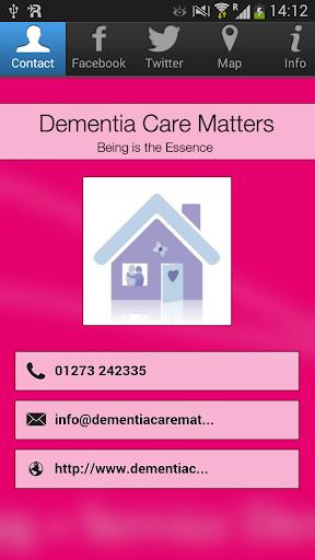 Dementia Care Matters