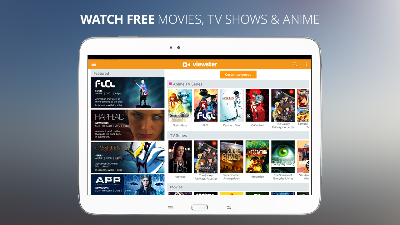 Viewster  Movies TV  Anime  Androidapps op Google Play