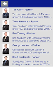 Gibson & Partners- screenshot thumbnail