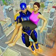 Real Flying Superhero Rescue Mission 2018 apk