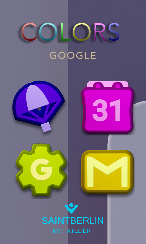 Colors Icon Pack- screenshot