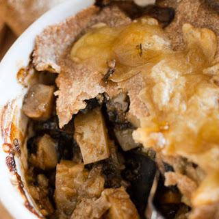 Rich, Dark Vege Pot Pie.