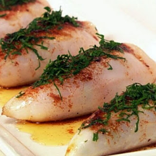 Simple and Very Tasty Stuffed Squid.