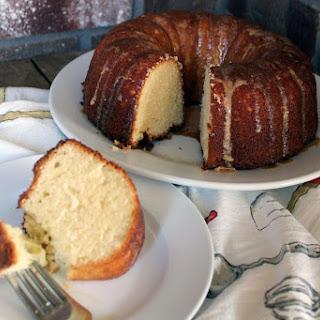 Rum Glazed Pound Cake.