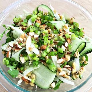 Fennel, Cucumber and Arugula Salad