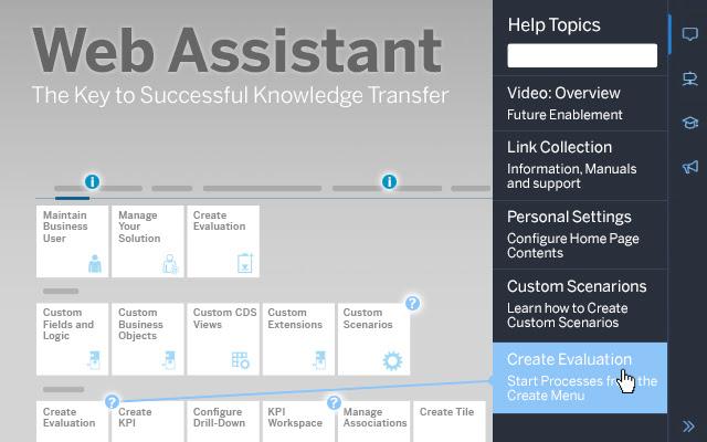 Web Assistant Extension