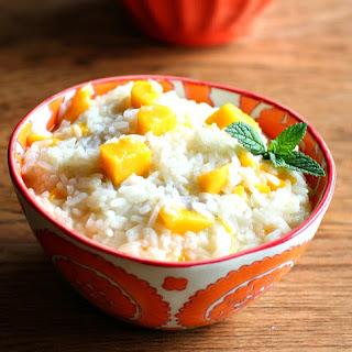 Coconut & Mango Sweet Rice.