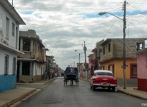 Photo: Это уже типичный маленький городок в кубинской провинции .