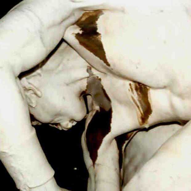 les lutteurs felix charpentier Bollène avant restauration