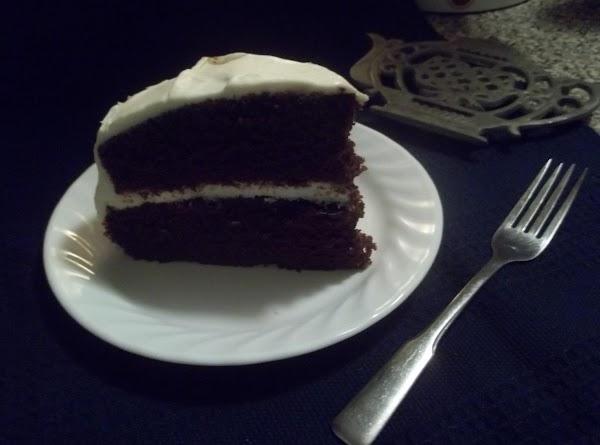 Mom's Chocolate Mayonnaise Cake Cream Cheese Icing Recipe