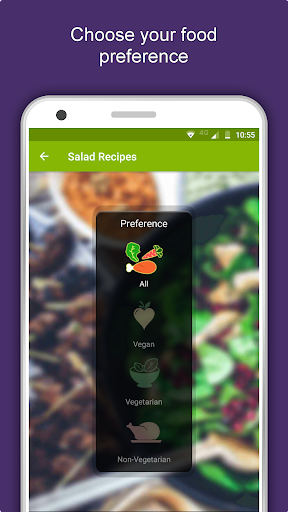 Salad Recipes: Healthy Foods with Nutrition & Tips 2.2.4 screenshots 1
