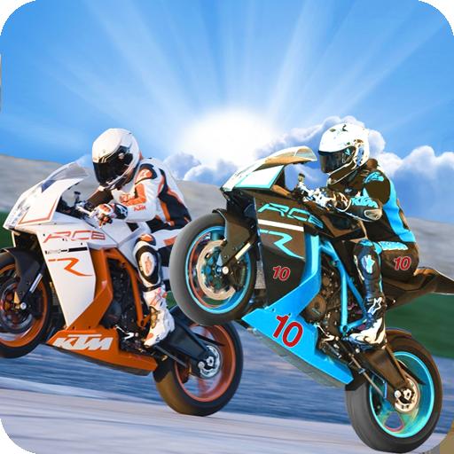 赛车游戏の狂気のバイクは、3Dに匹敵します LOGO-記事Game