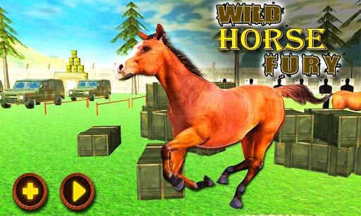 愤怒野马3D模拟器