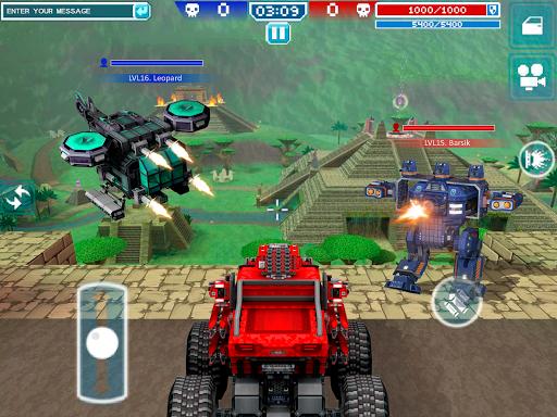 Blocky Cars - jeux de tank, tank wars fond d'écran 2