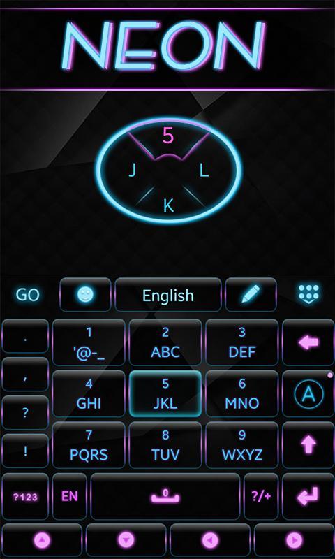 Neon-GO-Keyboard-Theme 12