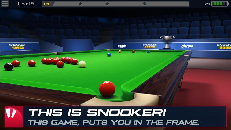 Snooker Stars - 3D Online Sports Game Screenshot 0