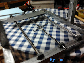 Photo: Assembling the X axis