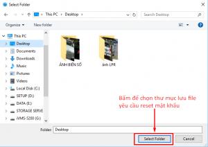 khôi phục mật khẩu cho đầu ghi hikvision