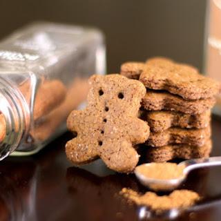 Healthy Homemade Gluten-Free Vegan Graham Crackers (low sugar, low fat).