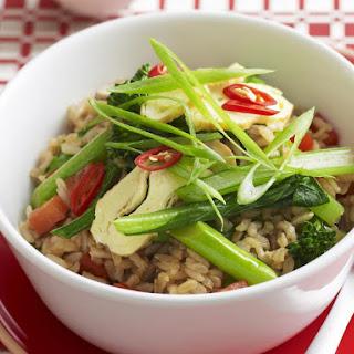Vegetable Fried Brown Rice.