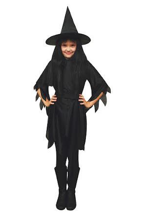 Häxklänning med hatt, barn