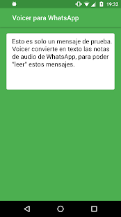 Voicer for WhatsApp Screenshot