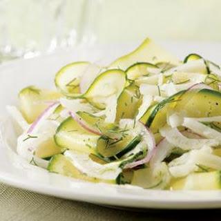 Shaved Zucchini-Fennel Salad