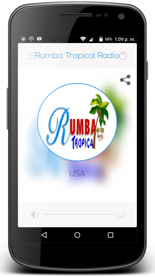 Rumba Tropical Radio- screenshot