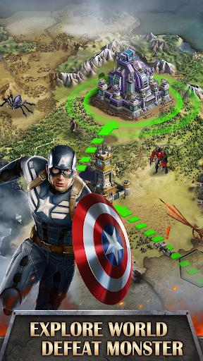 Mutants War: Heroes vs Zombies MMOSLG apktram screenshots 4