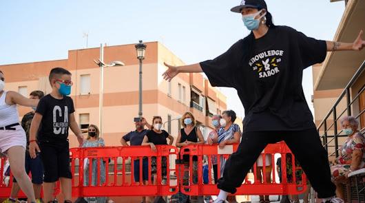 Grafftis, breakdance, freestyle y Dj en una jornada para los jóvenes