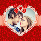 Valentines Day Photo Frames - Lovers Couple Family icon