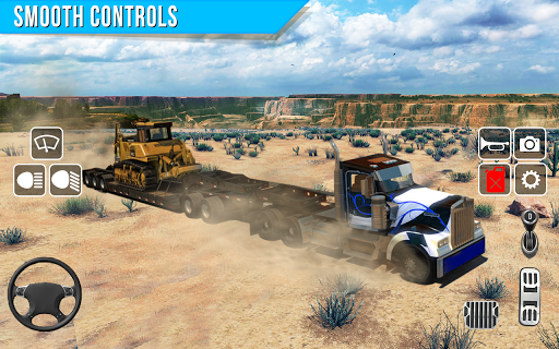Offroad truck driver 4X4 cargo truck Drive 3D apkmr screenshots 6