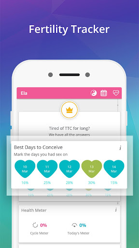 Ovulation Tracker & Fertility Calendar App  screenshots 3