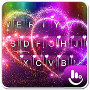 App Live Colorful Sparkling Love Heart Keyboard Theme APK for Windows Phone
