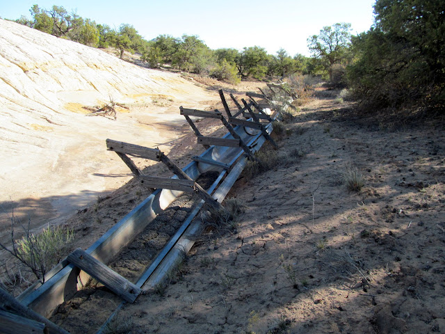 Water troughs at French Spring