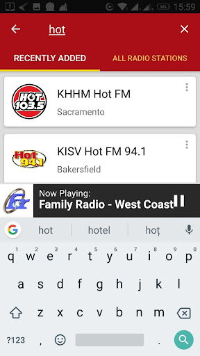 California Radio Stations 1.0.0 screenshots 4