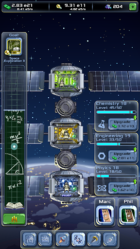 Idle Tycoon: Space Company apktram screenshots 3