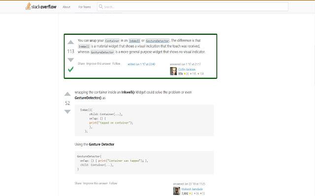 Minimalist Stack Overflow Theme