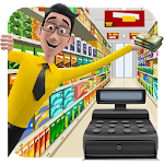 Supermarket Cash Manager : Kids Shopping Center Icon