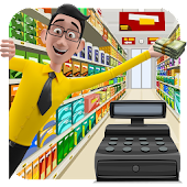 Supermarket Cash Manager : Kids Shopping Center