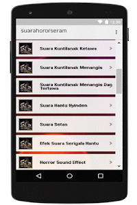 Download Suara Horor Terseram APK latest version app for android devices