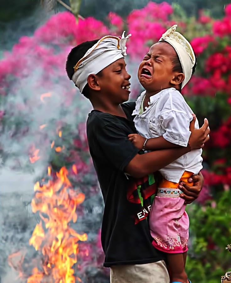 LOVELY LITTLE BRODER by Fammz Fammudin - Babies & Children Children Candids