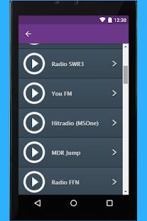 Radio Bayern 1 App - náhled